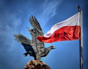 flaga polski, polska
